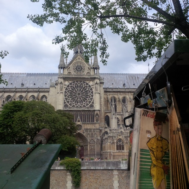 jsem v Paříži