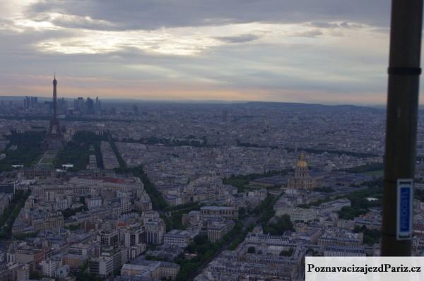 pohled na Invalidovnu z Tour Montparnasse